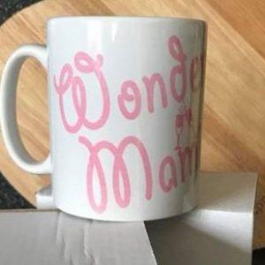 A wonder mami mug